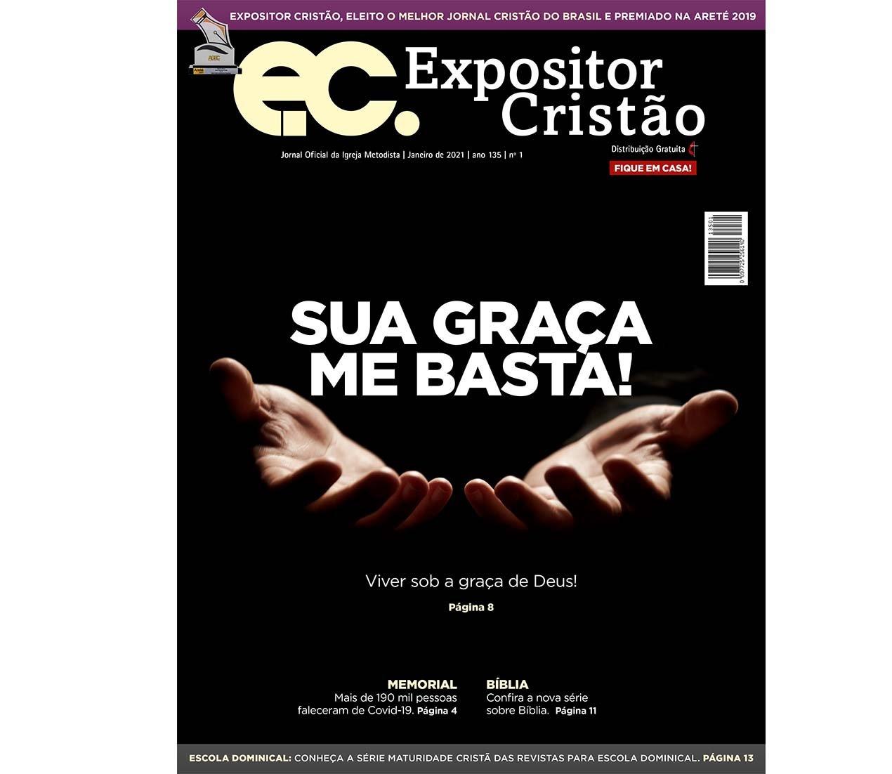 EC de janeiro anuncia as boas notícias da graça