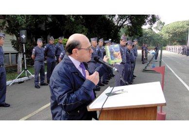 Mensagem de Cristo à Polícia Militar de SP