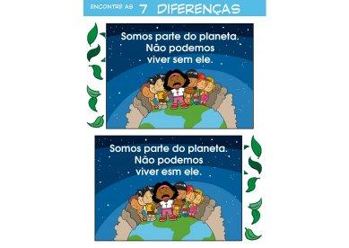 Encontre as 7 diferenças