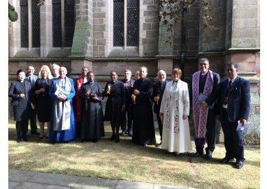 Igreja Metodista é representada pelo Colégio Episcopal em eventos no exterior