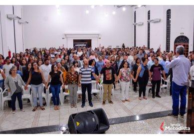 """Igreja Metodista realiza conferência """"Sangue nos Umbrais"""""""