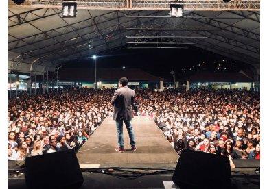 Festa do Milho em Além Paraíba reúne seis mil pessoas