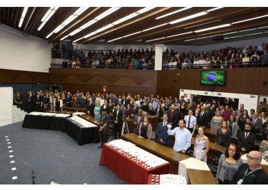 Instituto Izabela Hendrix e Igreja Metodista são homenageados em evento na Câmara Municipal de Belo Horizonte/mg