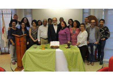 Representantes da Igreja Metodista do Reino Unido visitam o Brasil