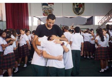 Jovens participam de projeto missionário do Panamá