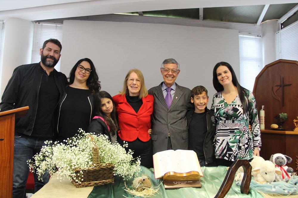 Gratidão pelos 26 anos de ministério na área geral do Bispo Stanley Moraes