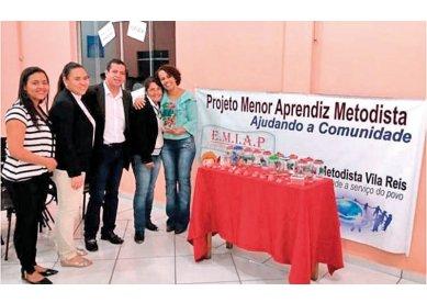 Projeto menor aprendiz metodista no Paraná