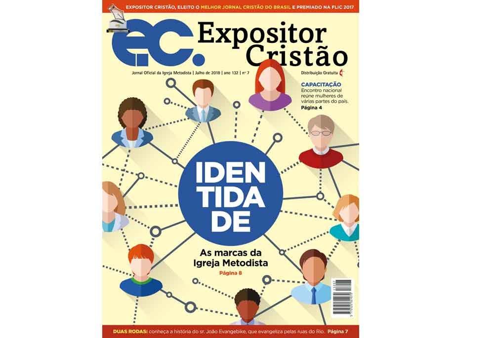 EC de julho fala sobre IDENTIDADE - as marcas da Igreja Metodista