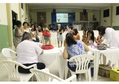 Equipes de Saúde aderem ao Movimento Rosa promovido pela Igreja Metodista em Porciúncula