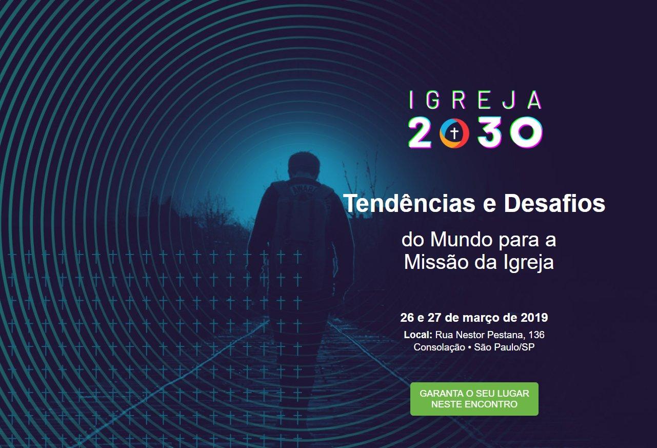 Aliança Cristã Evangélica Brasileira abre inscrição para conferência Igreja 2030