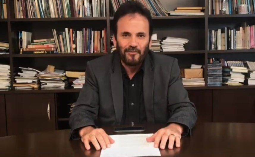Bispo João Carlos Lopes grava vídeo sobre o tema do meio ambiente
