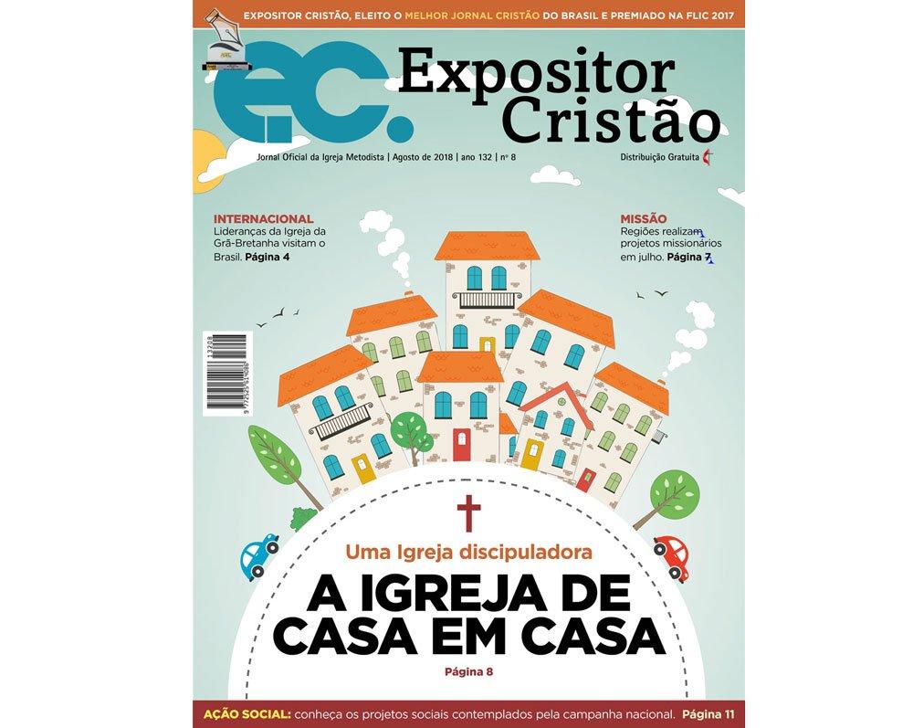 Expositor Cristão de agosto fala sobre a igreja de casa em casa