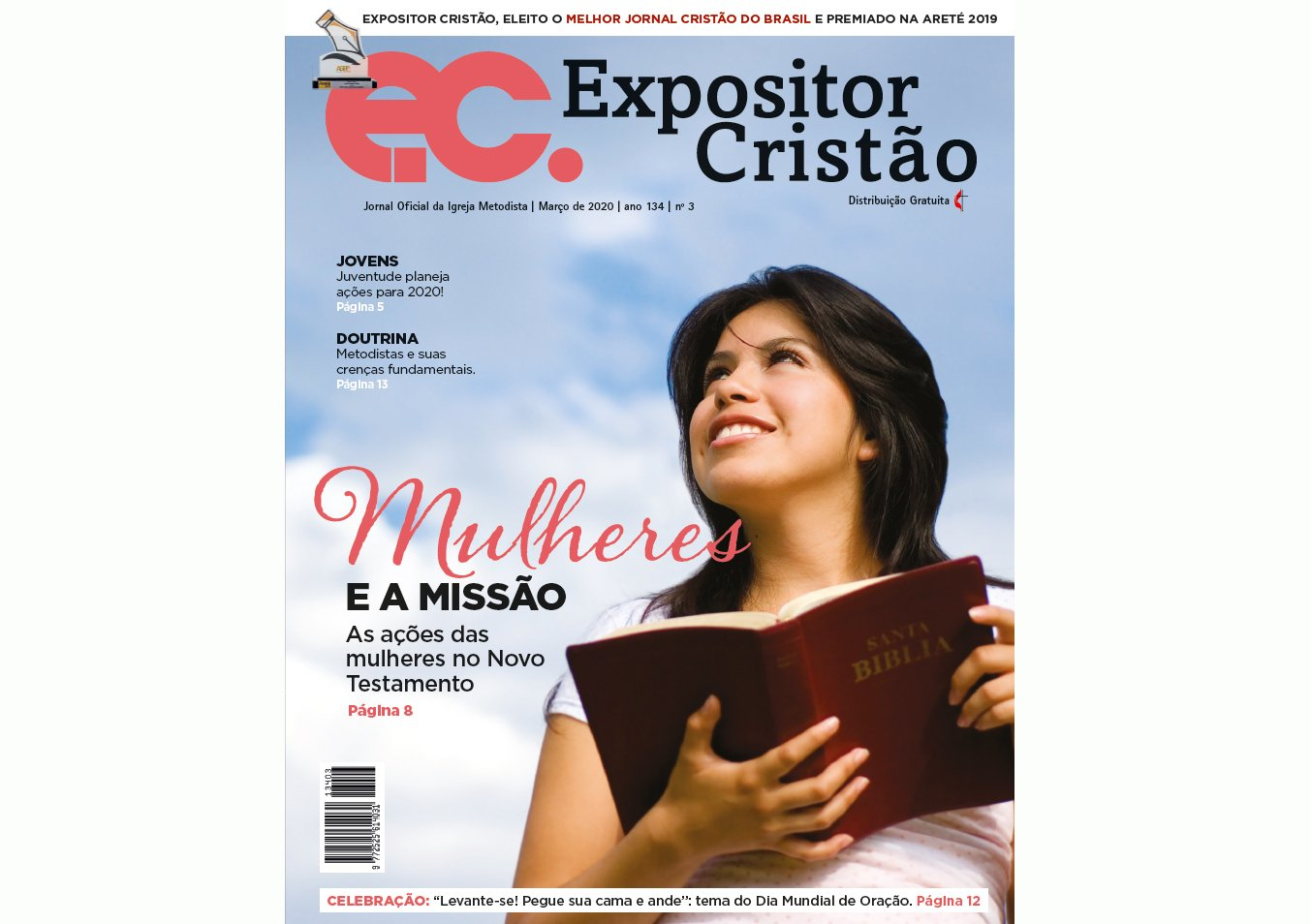 EC de março: as mulheres e a missão no Novo Testamento
