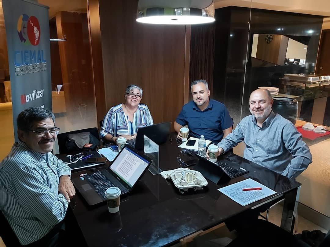 Comitê executivo do Ciemal se reúne no Panamá e participa de Treinamento Missionário