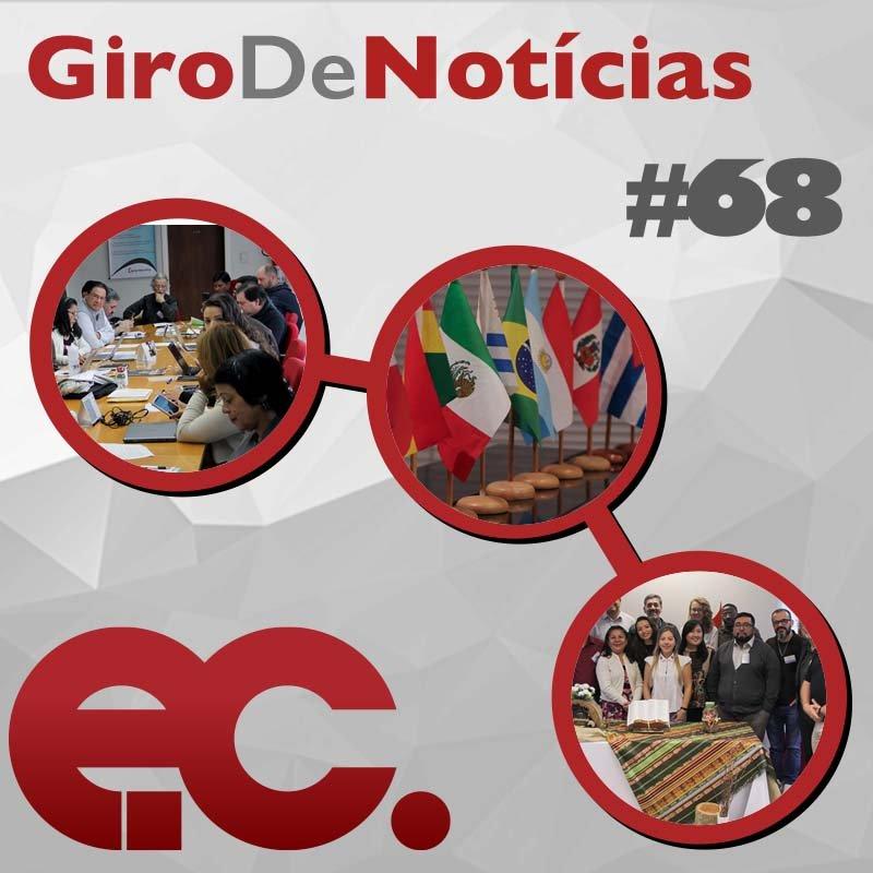 #Giro de notícias do EC com informações da Consulta e Workshop Misional