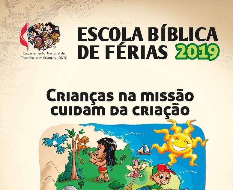 DNTC disponibiliza material para Escola Bíblica de Férias