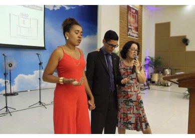 Culto de despedida do Pastor Sávio Dias da Igreja Metodista em Porciúncula