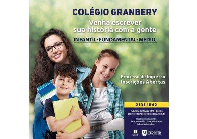 Colégio Metodista Granbery tem matrículas abertas para 2019