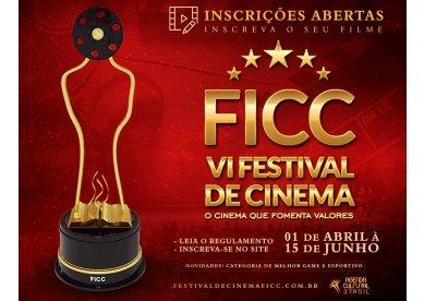 Festival Internacional de Cinema Cristão (FICC) abre inscrições para sexta edição da premiação