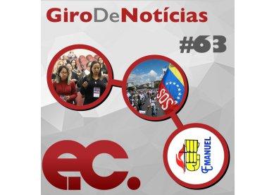 Giro de Notícias #63 - Encontro de Mulheres - Ajude a Venezuela - Ministério Emanuel