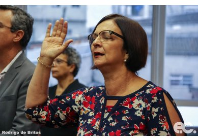 Saiba como foi o Ato de Consagração da Revda. Giselma Matos, na Secretaria Executiva do Colégio Episcopal