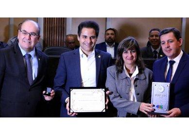 Metodista recebe Troféu Top São Bernardo-2018 da Prefeitura e Câmara de Vereadores
