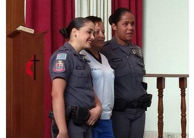 Igreja Metodista de Vila Medeiros, em São Paulo, realiza parceria com a o 5º Batalhão da Polícia Militar
