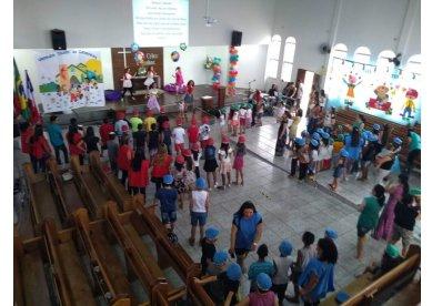 Igreja Metodista em Vitória da Conquista - BA promove colônia especial para crianças
