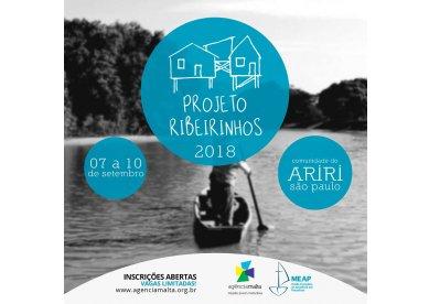 Agência Malta abre inscrições para o Projeto Ribeirinhos 2018