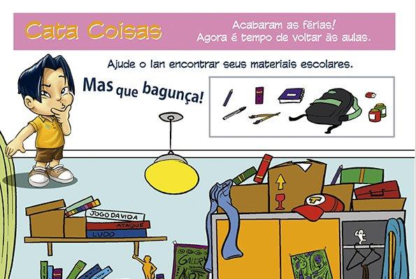 Página da Criança: tempo de voltar às aulas!