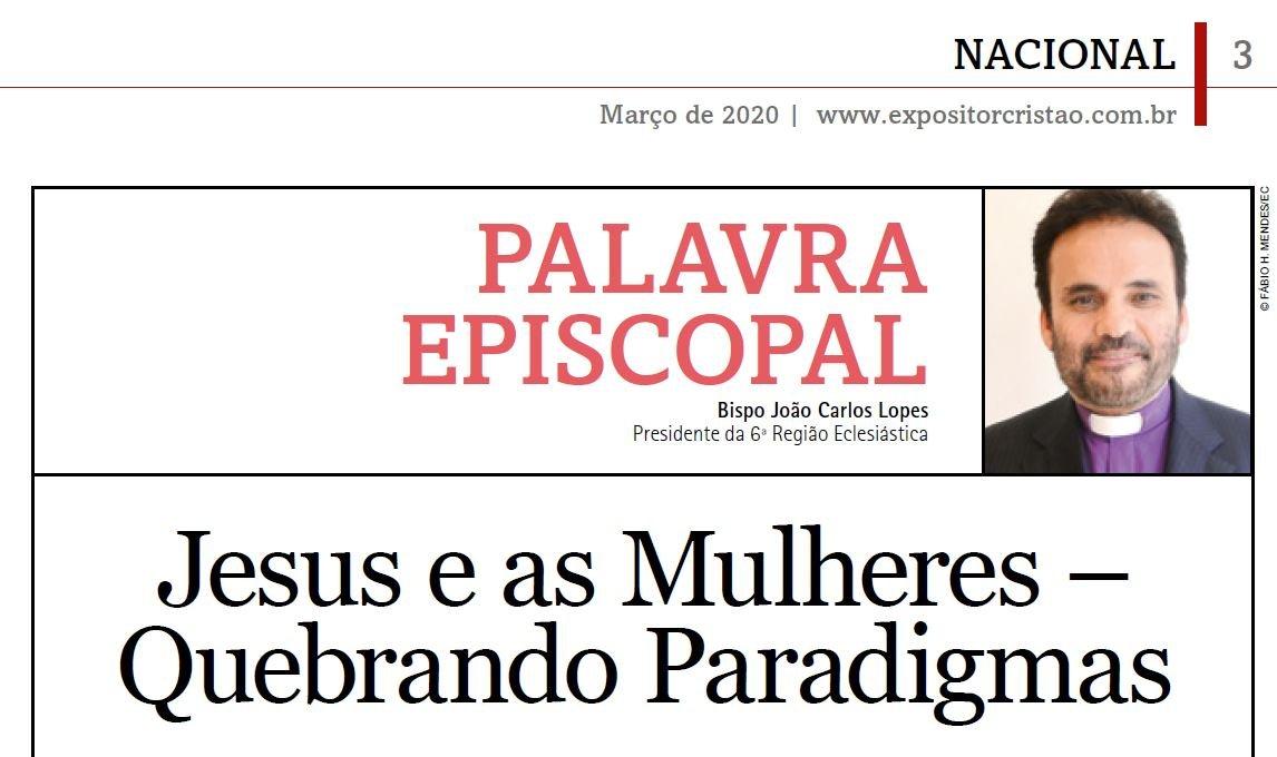 Palavra Episcopal: Jesus e as mulheres - quebrando paradigmas