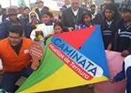 Visão Mundial une-se a parceiros e promove caminhada continental pedindo mais ternura para crianças e adolescentes