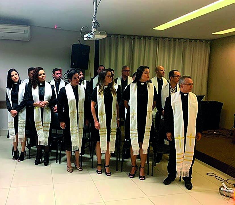 Rema acolhe 14 novos obreiros em Concílio Regional