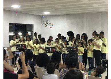 Unidades do Projeto Sombra e Água Fresca celebram fim de ano pelo país