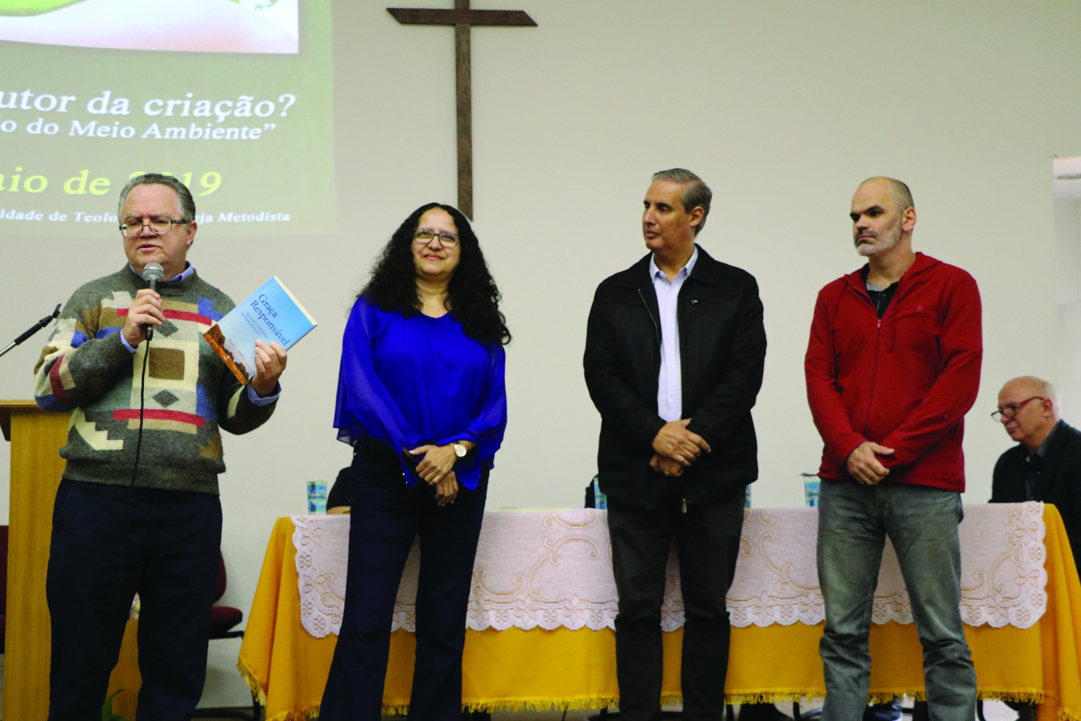 Angular Editora integra Conferência na 68ª Semana Wesleyana, junto com a SBB e a Fateo