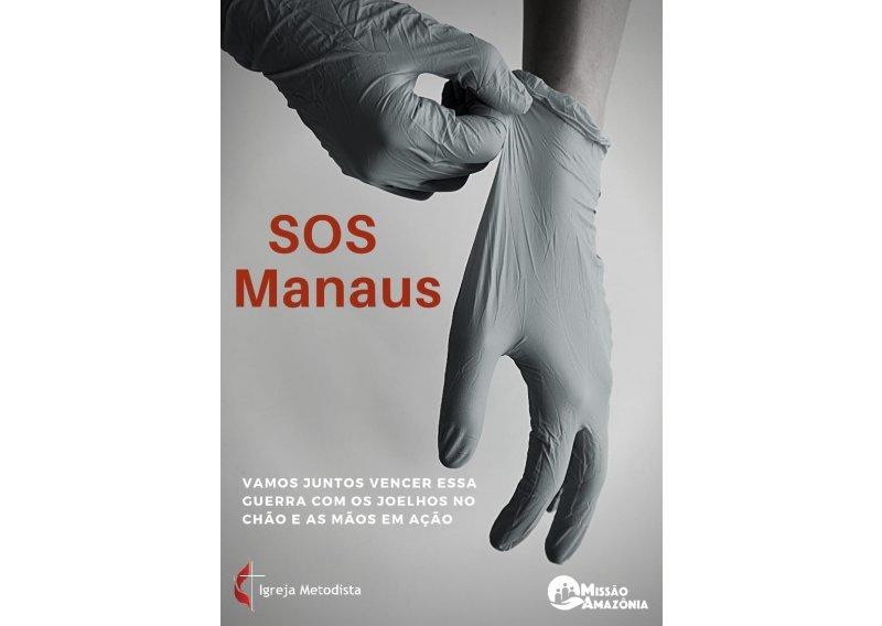 SOS Manaus | Missão Amazônia e Pastoral de Direitos Humanos se mobilizam