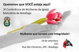 III Conferência de Mulheres da Igreja Metodista de Botafogo