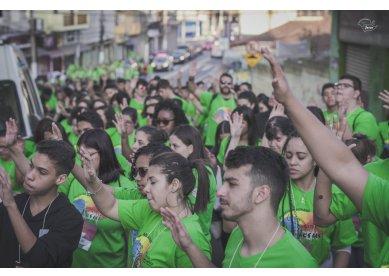 Projeto Uma Semana Pra Jesus contou com mais de 500 voluntários em São Paulo