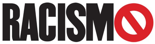 """Palavra """"Racismo"""" com um símbolo de proibido na letra """"O"""""""