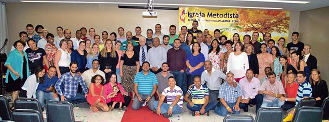 Grupo no Concílio Regional REMA