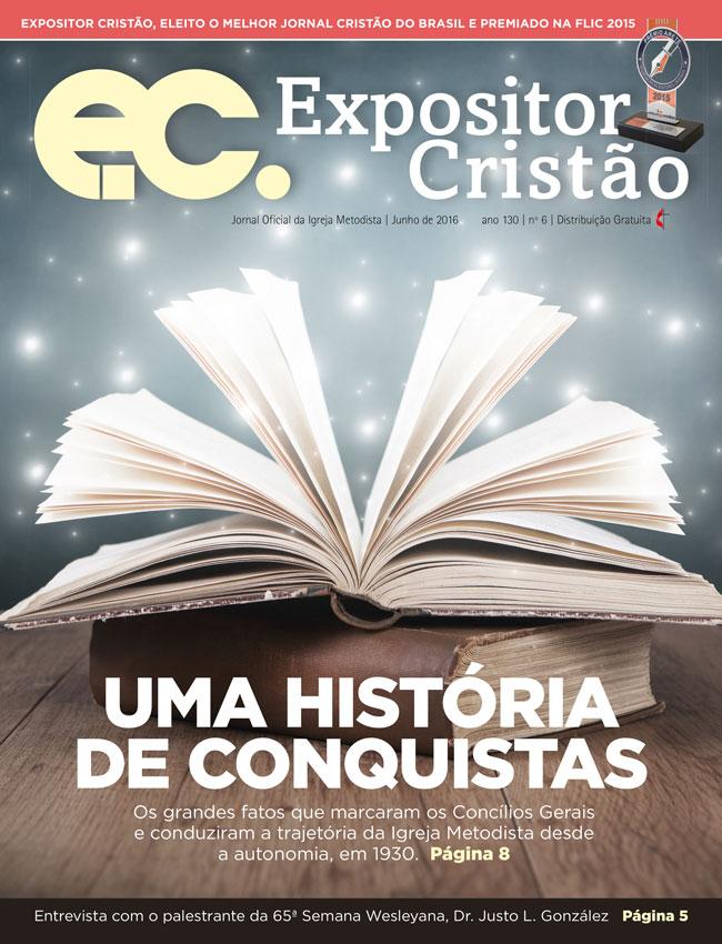 Capa do Expositor Cristão de junho