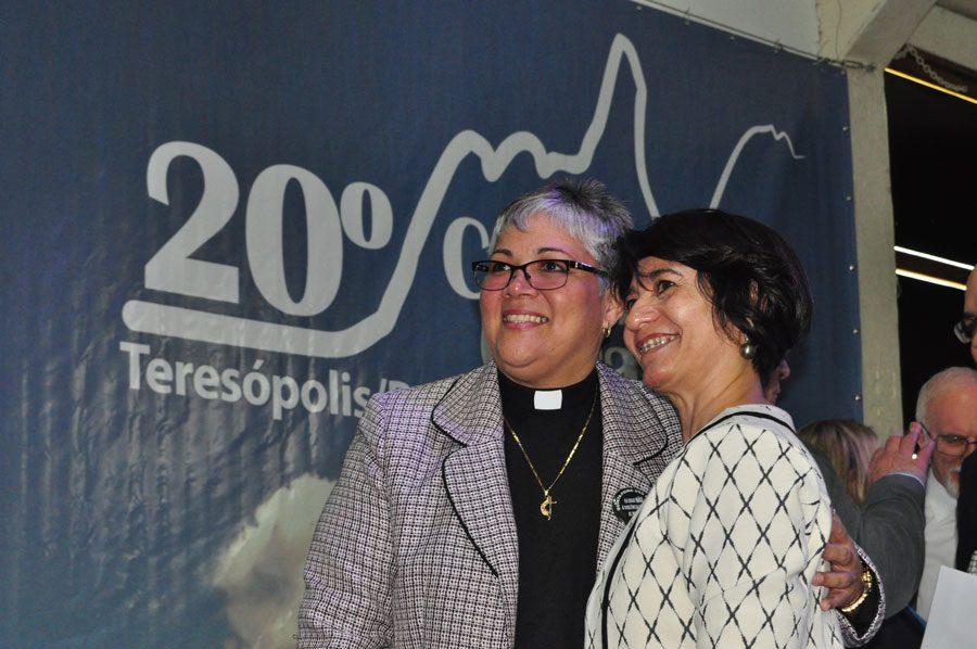 Lizzete Montalvo (CIEMAL) e Bispa Marisa de Freitas participam do EAD
